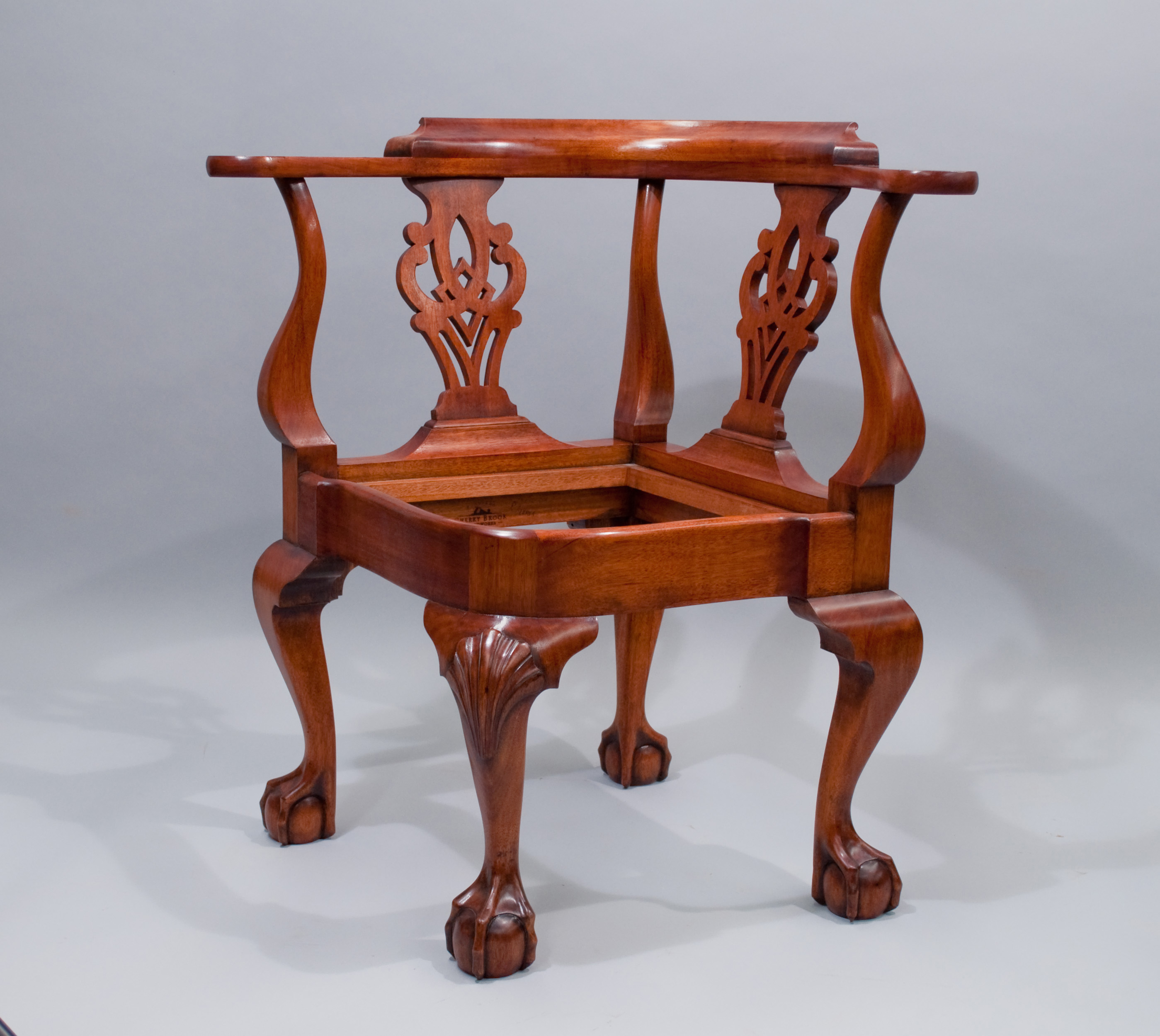 Chippendale Newport Corner Chair