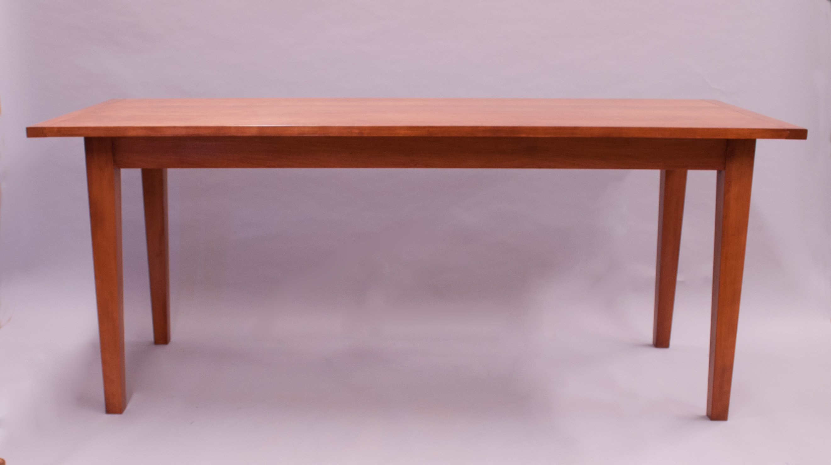 Tapered Leg Table In Cherry